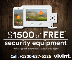 CHECK THE EXCITING OFFERS OF VIVINT HOME SECURITY 1800-637-6126