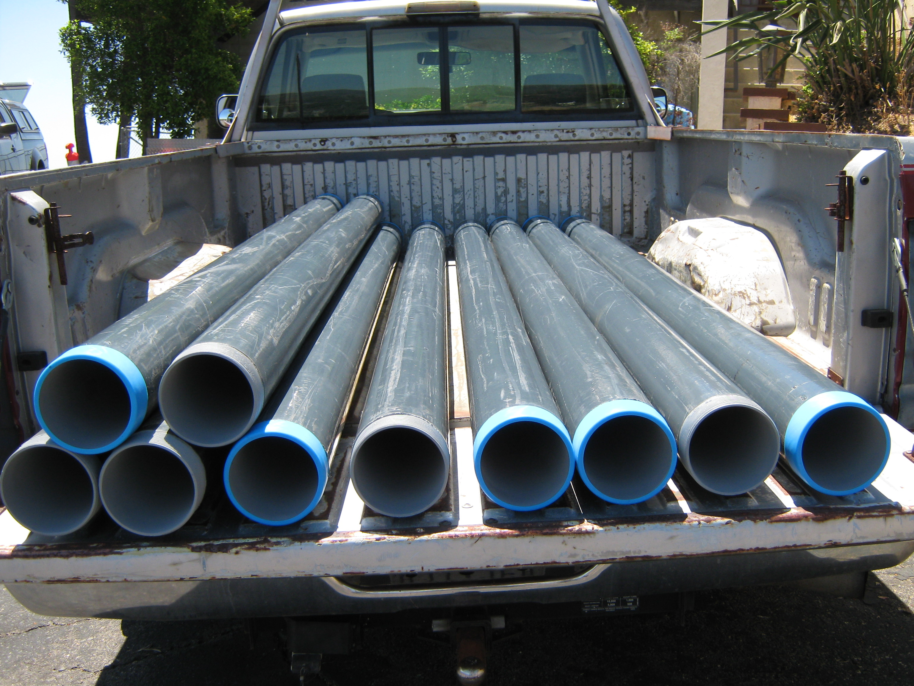 Conduit:  Rigid Five Inch Diameter, Coated
