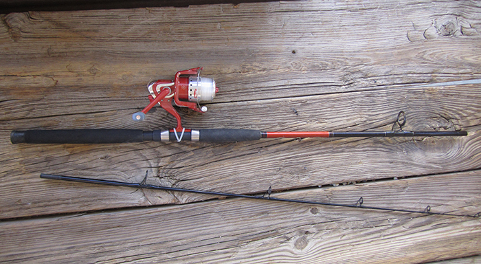 New Fishing Pole