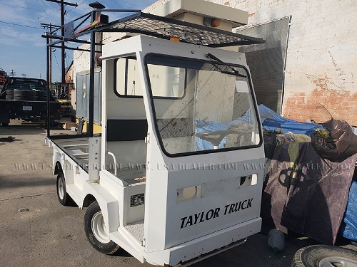 2009 TAYLOR DUNN B0-T48-48 ELECTRIC UTILITY CART