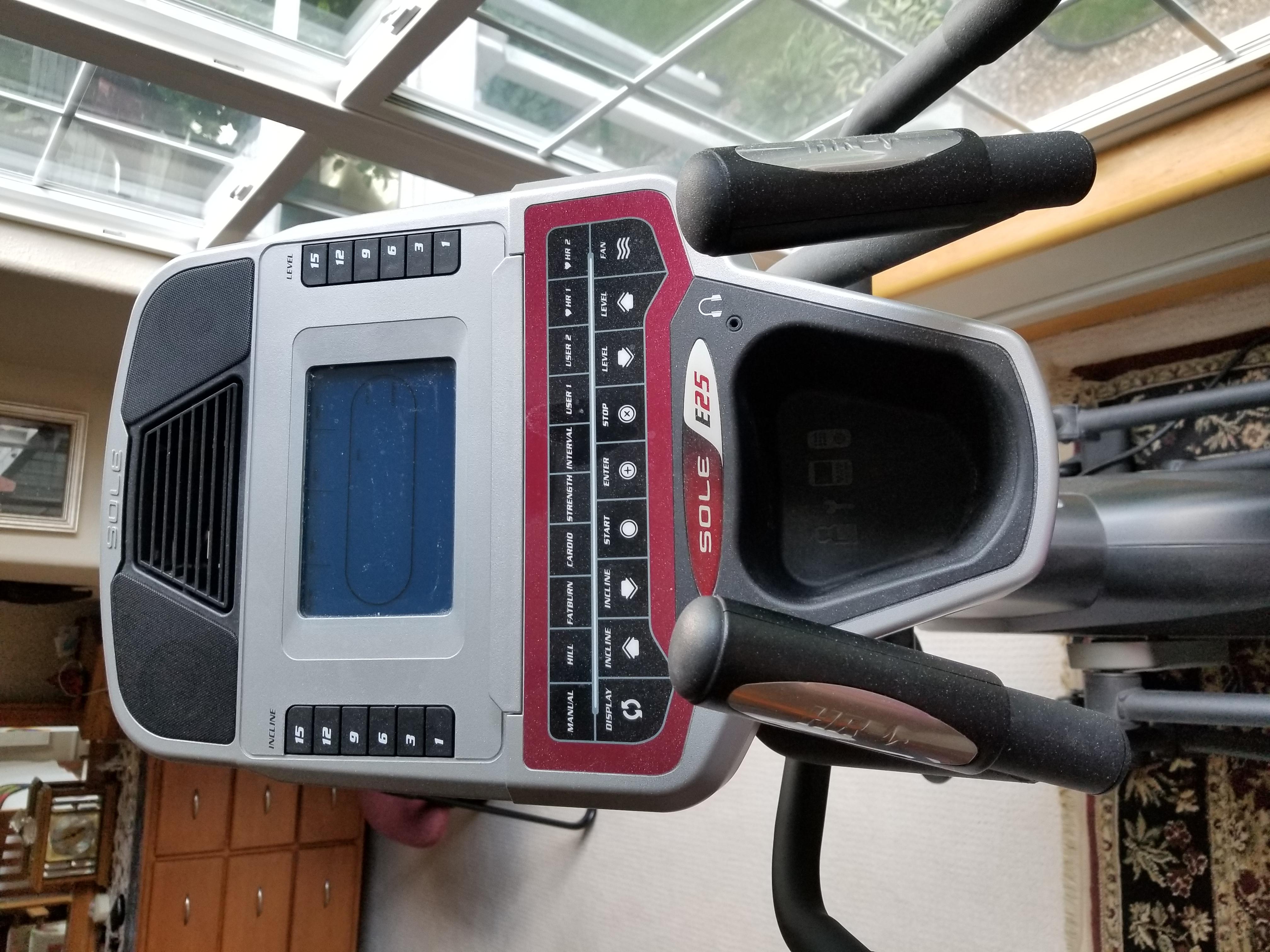 Sole elliptical machine
