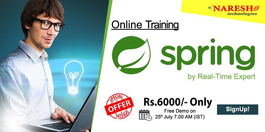 Spring Online Training - NareshIT
