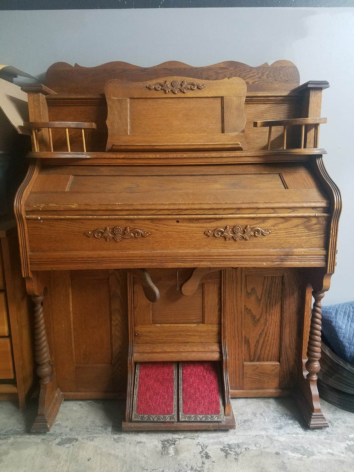 Antique - Seybold Reed Pipe Organ