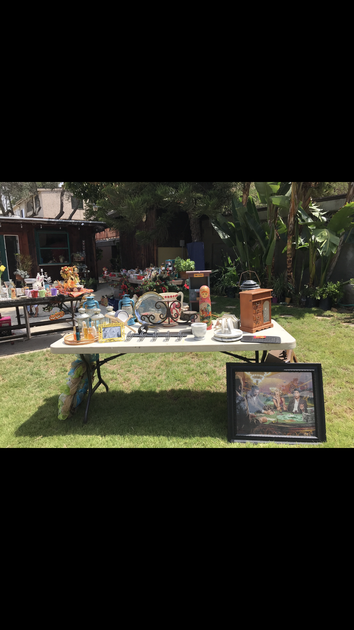TOO • MUCH • STUFF • YARD SALE