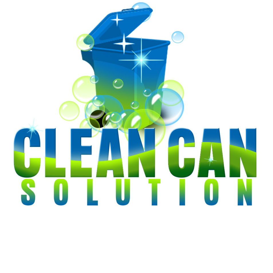 Trash and recycle can cleaning service