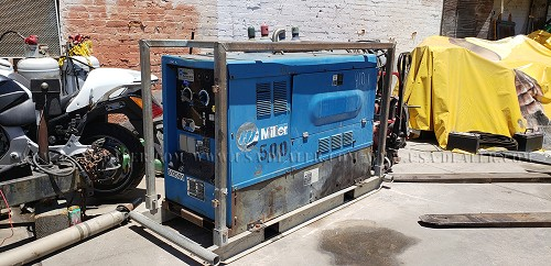 MILLER BIG BLUE 402D WELDER