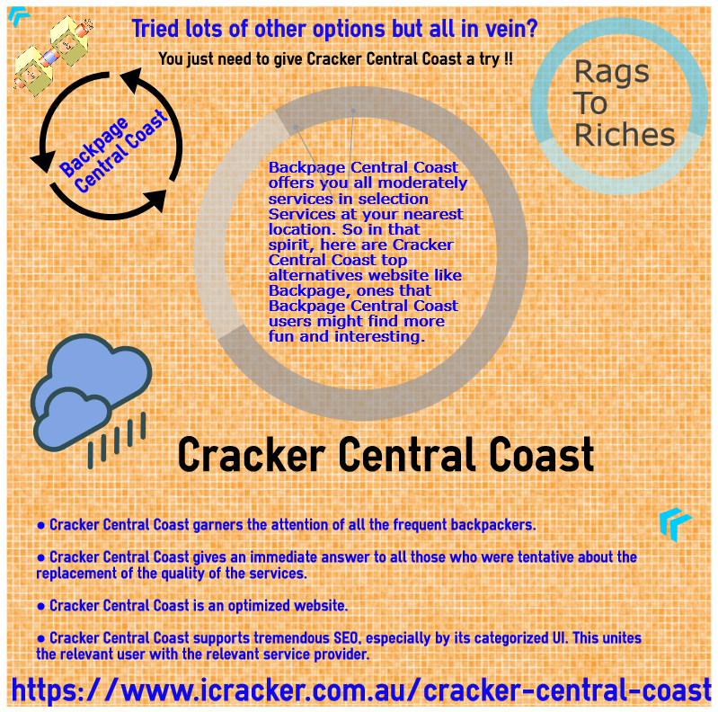 Rags To Riches Cracker Central Coast