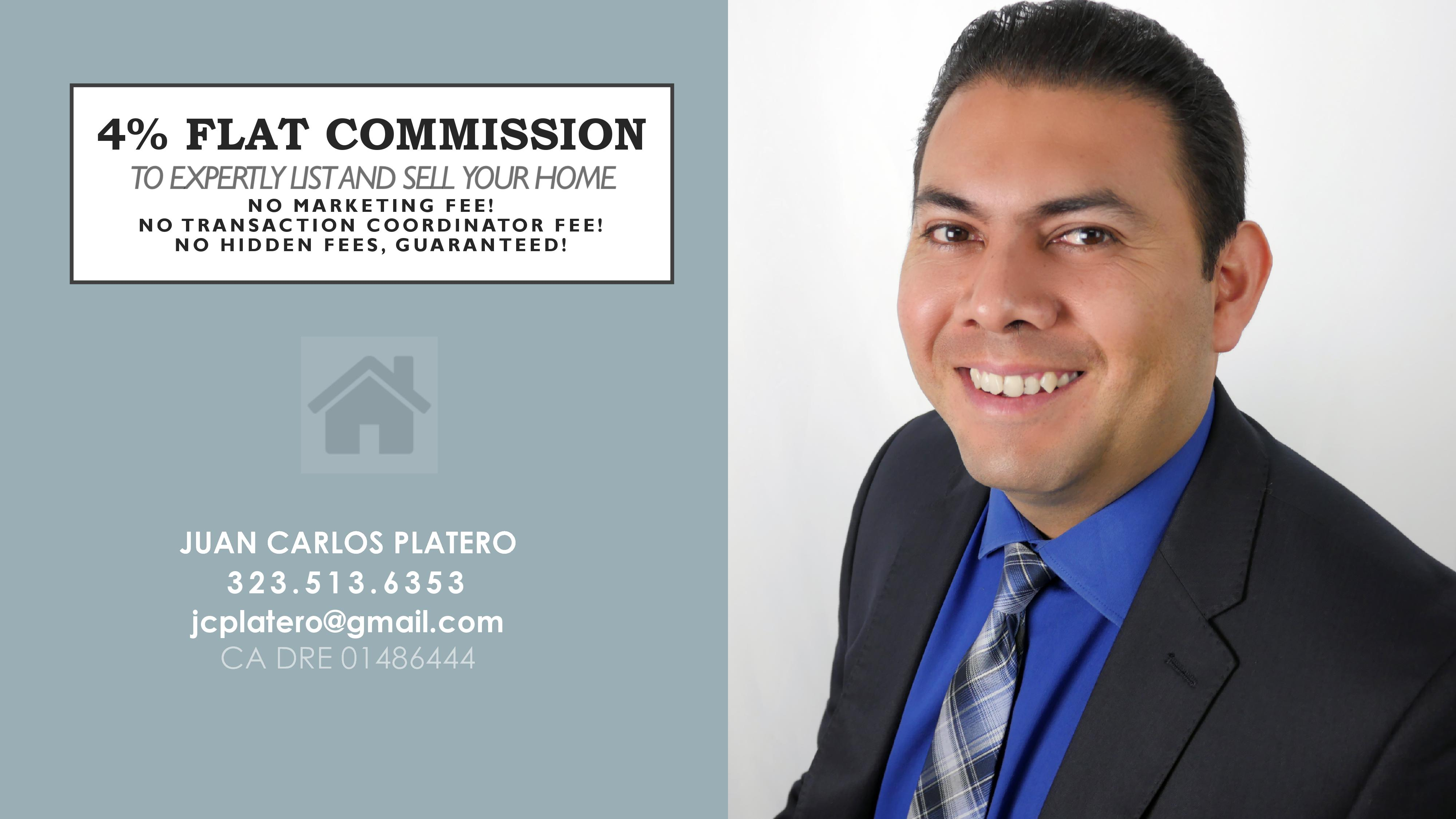 LIST YOUR HOME 4% FLAT COMMISSION