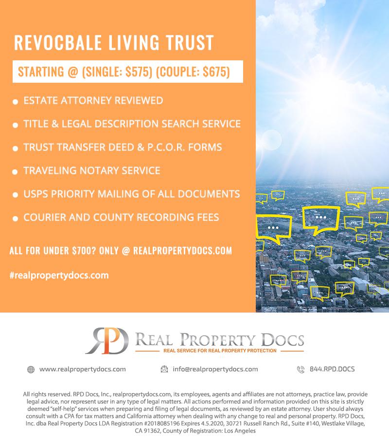 REVOCBALE LIVING TRUST