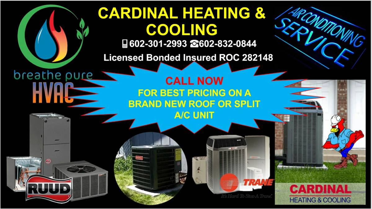 HVAC Installation A/C Repair AC/Heating Service