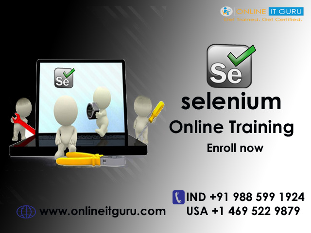 selenium certification | selenium online training