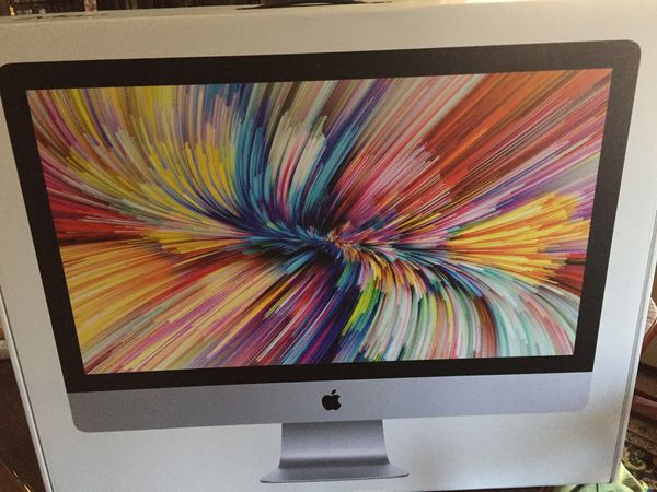 27-inch iMac with Retina 5K display 64GB Latest Model