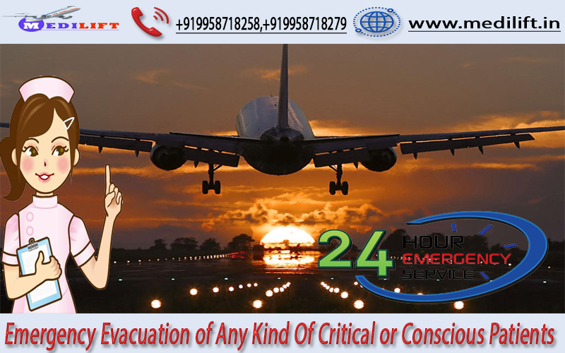 Avail Full ICU Setups Air Ambulance Service in Delhi
