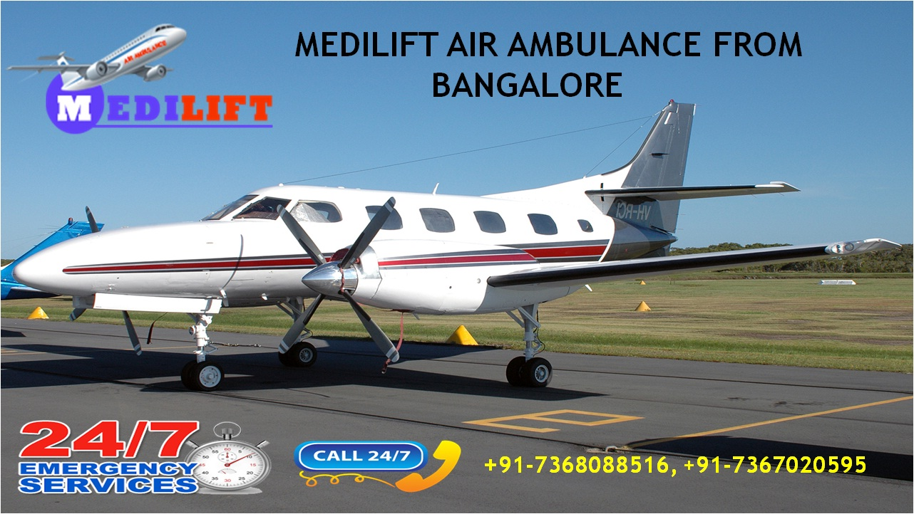 Best Supreme Air Ambulance Services in Bangalore Provided by Medilift