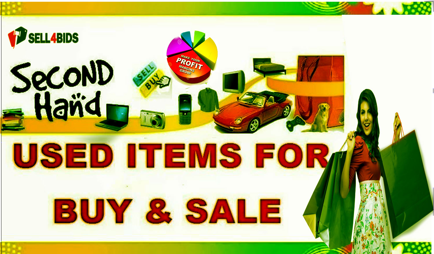 Best Place to Sell used Stuff Online on sell4bids