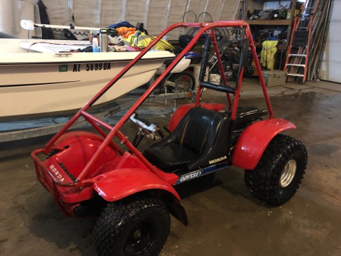 RARE MINT 1981. HONDA ODYSSEY SAND BUGGY / KART  COLLECTABLE