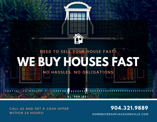 We Will Buy Any Jacksonville House & Pay Cash!
