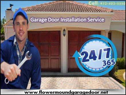 A+ Rated Emergency Garage Door Installation ($25.95) Flower Mound Dallas, 75022 TX