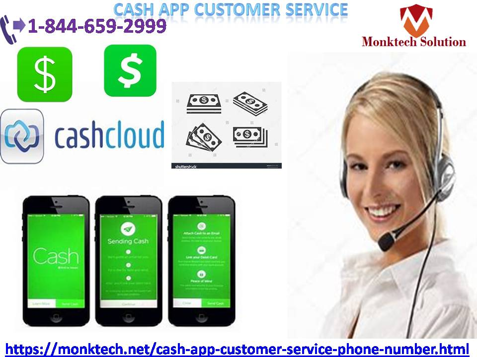 Ring on our number for availing cash app customer service 1844-659-2999