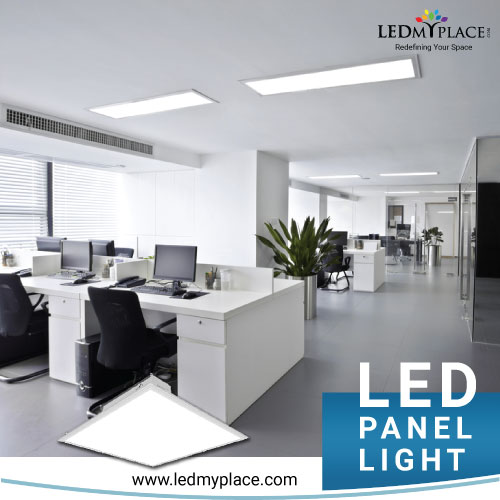 illumination and uniform distribution of brightness switch to LED panel lights