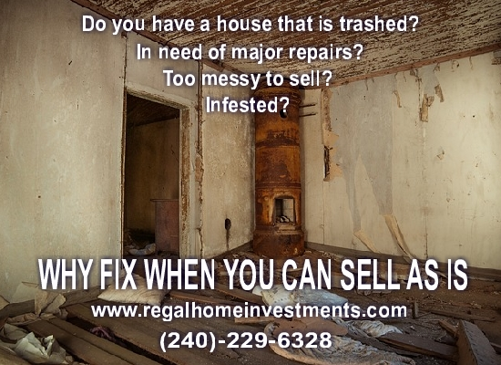 We REALLY want to BUY your HOUSE in Fairfax, VA!