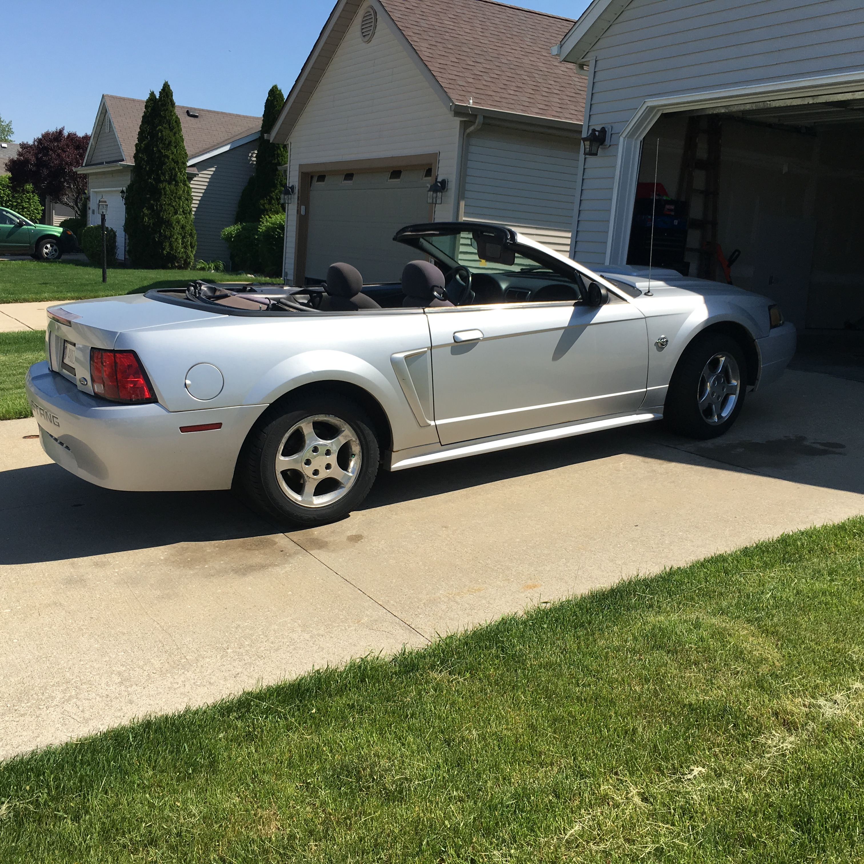 2004 Ford Mustang Convertible 3.9L V6