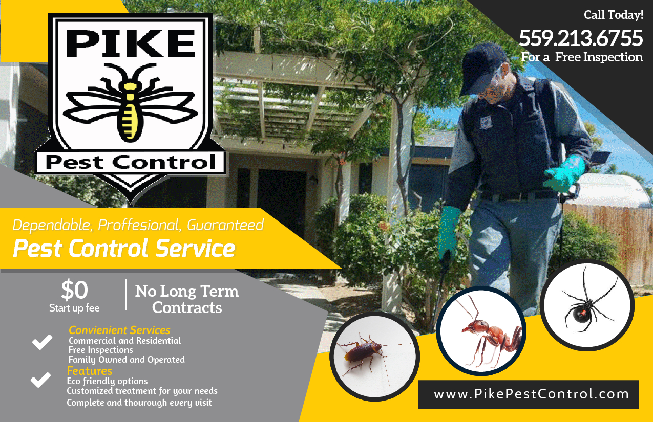 Pest Control 0$ start up fees, No Contracts.