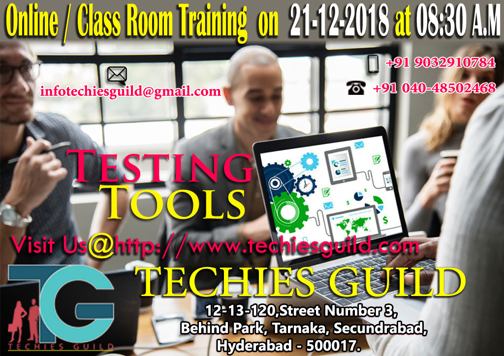 Testing tools training institutions in Hyderabad