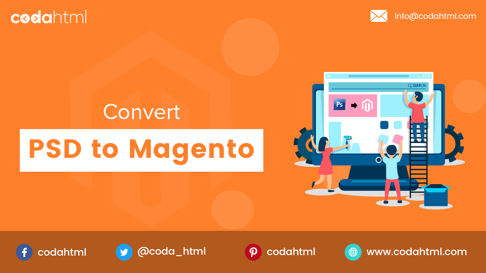 PSD To Magento Theme Conversion | PSD To Magento 2