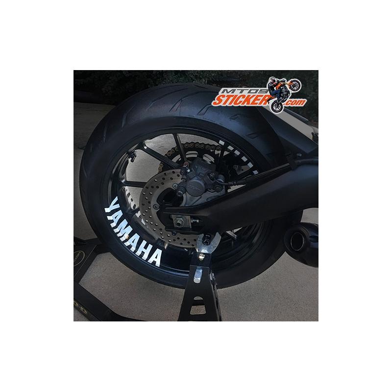 Yamaha interior rim stickers X8 (ws-06)