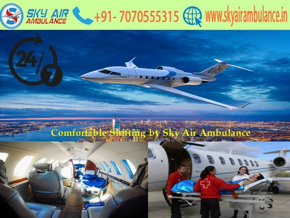 Reliable Shifting by Sky Air Ambulance Service in Indore