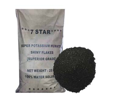 Soil Application in Agriculture: Potassium Humate Powder, Flakes, Crystal