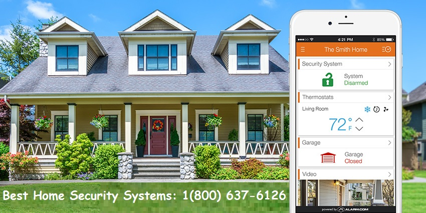 NEW CUSTOMER OFFER HOME SECURITY 1800-637-6126