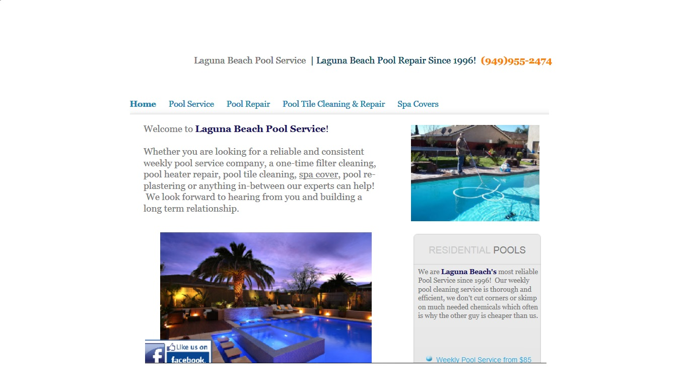 Laguna Beach Pool Service