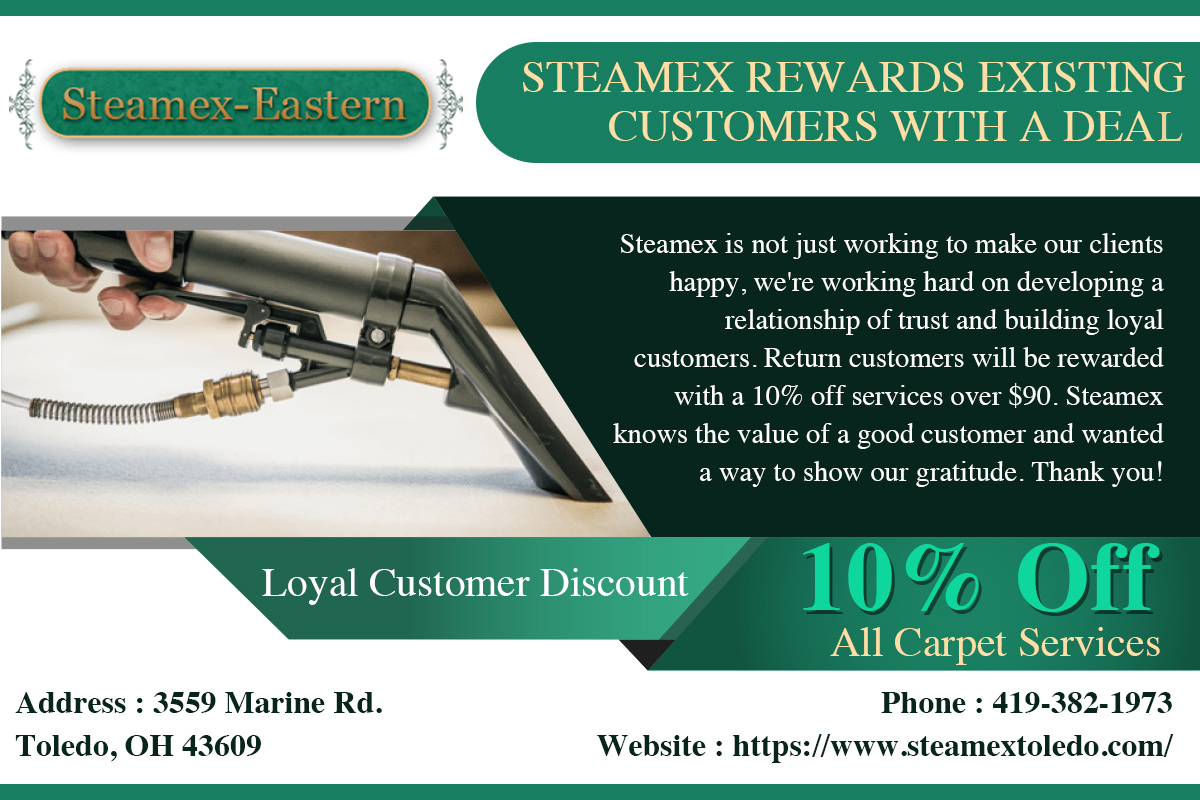 Steamex Rewards Existing Customers With A Deal