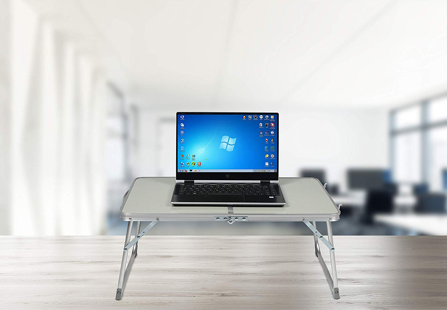 Milliard Aluminum Laptop Foldable Table