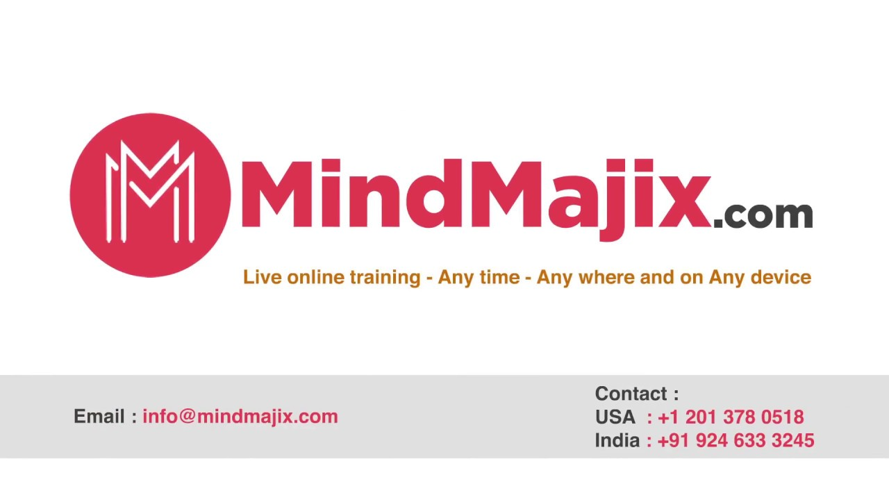 Mindmajix  machine learning with python training