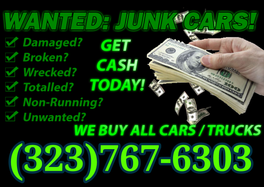 CASH FOR JUNK CARS, CASH FOR CARS