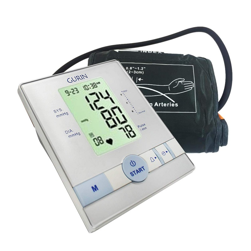 Gurin Automatic Upper Arm Blood Pressure Monitor with Large Display