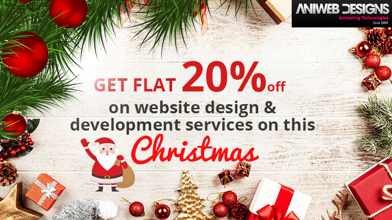 Christmas Offer On Web Service