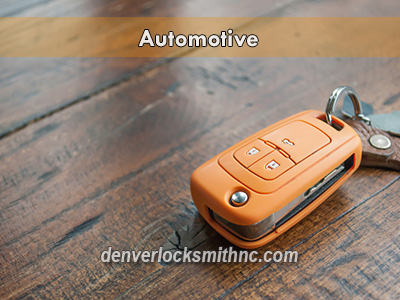Quality locksmith service in Denver, NC