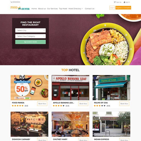 Online Restaurant Booking Software | Online Restaurant Booking Script | i-netsolution
