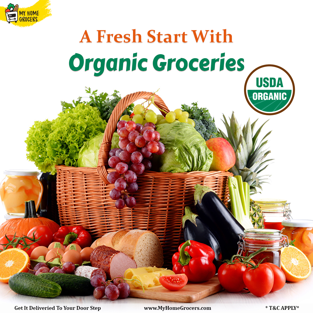 Organic Groceries Online Irving,Texas - MyHomeGrocers