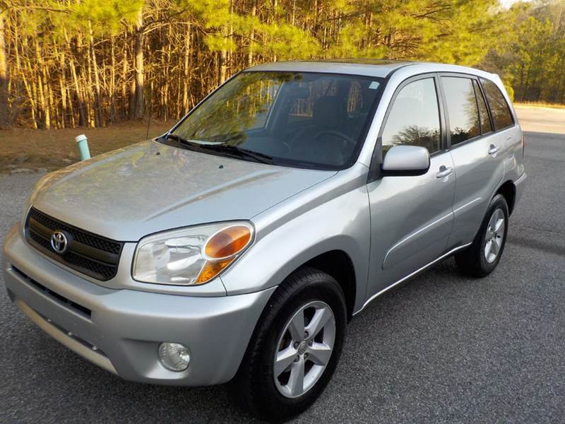 Actual Miles Used 2005 Toyota RAV4-4DR