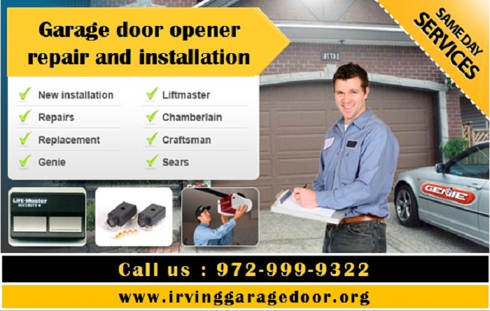24/7 Residential Garage Door Opener Repair ($25.95) Irving, 75039 TX
