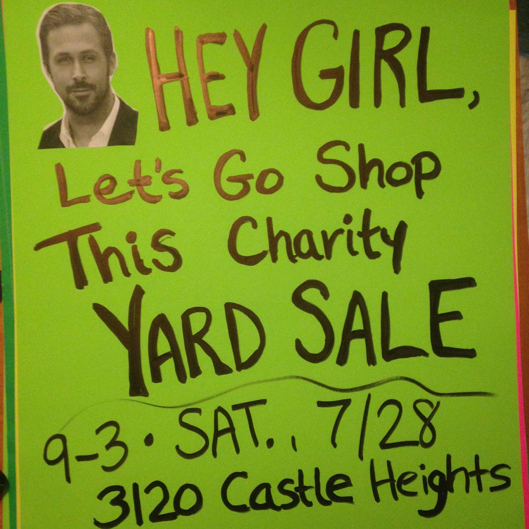 July 28th - Animal Rescue Charity Yard Sale