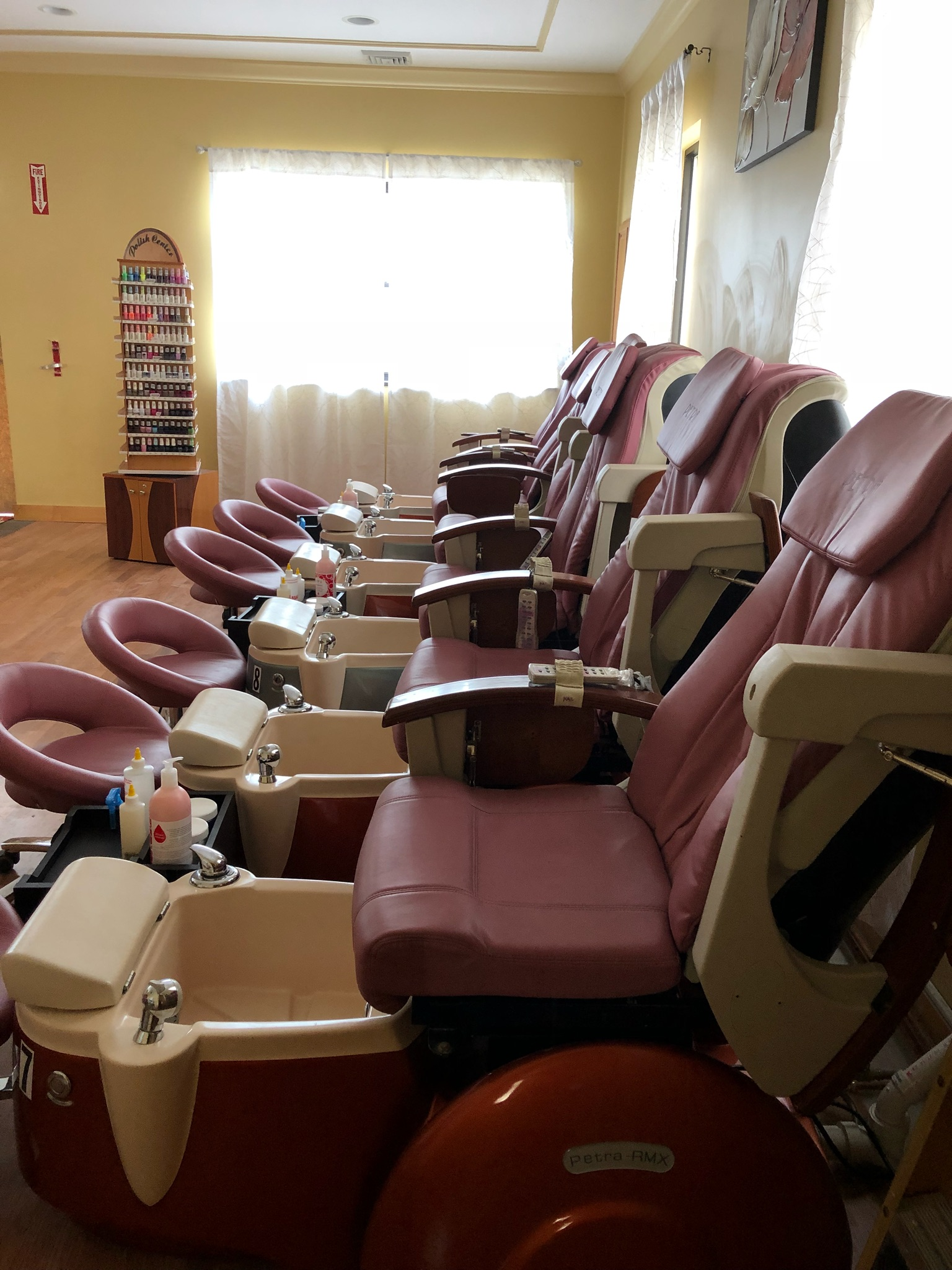 Selling 6 new Pedicure chair because it is not up to my city standards