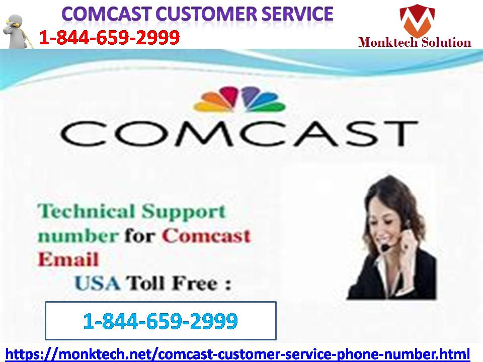 Call Comcast customer service to tackle all Comcast issues   1844-659-2999