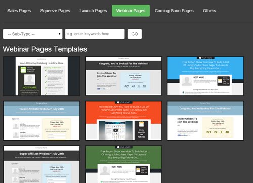 Easy-To-Use Drag and Drop Software Creates All Your Landing Pages.