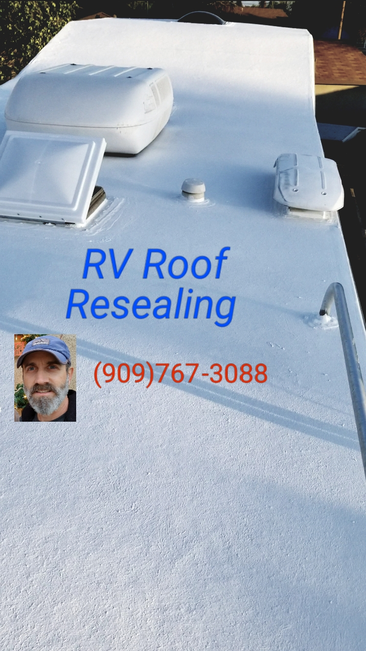 RV Roof Resealing And More